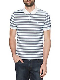 Original Penguin Pointelle Stripe Short Sleeve Pol