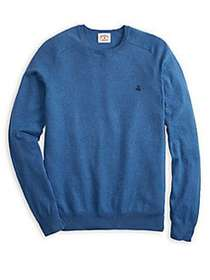 Brooks Brothers Red Fleece Cotton Cashmere Sweater