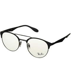 Ray-Ban Silver on Top Grey
