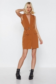 Nasty Gal Womens Tobacco Get Down to It Plunging B