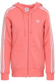 ADIDAS ORIGINALS Striped French cotton-blend terry