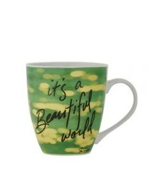 Pfaltzgraff Its a Beautiful World Mug