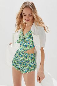 House Of Sunny Floral Two-Piece Set