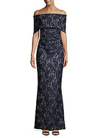 Vince Camuto Off-the-Shoulder Lace Sheath Dress NA