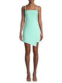 Likely Haven Asymmetric Hem Mini Dress ARUBA