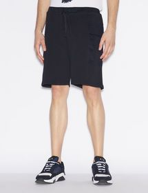 Armani COTTON BERMUDA SHORTS WITH PATCH POCKETS