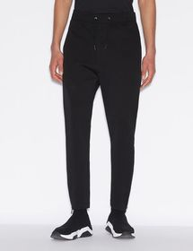 Armani TROUSERS WITH METALLIC LETTERING