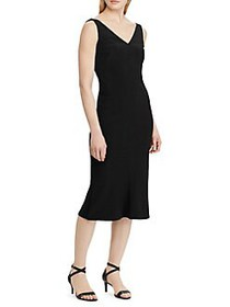 Lauren Ralph Lauren Sleeveless Jersey Dress BLACK
