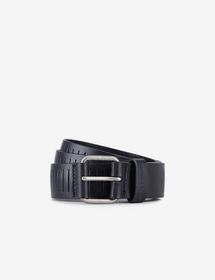 Armani BELT IN TEXTURED LEATHER