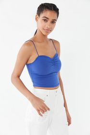 Out From Under Rowena Ruched Cropped Cami