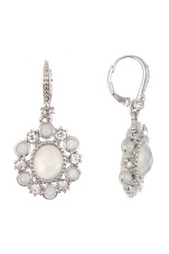 Marchesa Oval Drop Earrings
