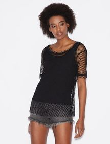 Armani DOUBLE KNIT WITH MESH