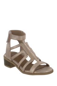 MIA Carlyn Caged Block Heel Sandal (Little Kid & B