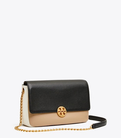 Tory Burch CHELSEA COLOR-BLOCK CONVERTIBLE CHAIN S