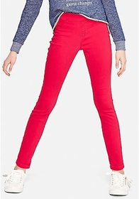 Justice Color Pull On Jean Leggings