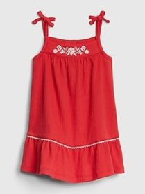 Baby Embroidered Tank Dress