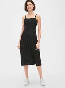 Fit and Flare Cami Midi Dress