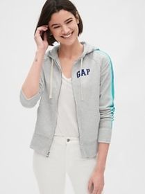 Vintage Soft Gap Logo Side-Stripe Hoodie