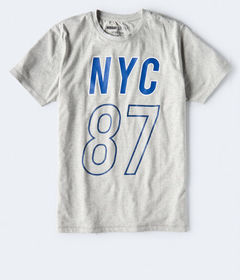 Aeropostale NYC 87 Stretch Graphic Tee