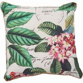 THRO Indoor-Outdoor White Palm Tree Throw Pillows