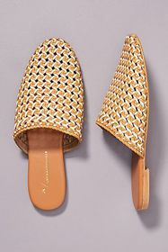 Anthropologie Anthropologie Well-Woven Slides