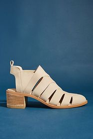 Anthropologie Farylrobin Dura Cut-Out Ankle Boots