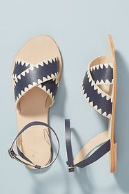 Anthropologie Anthropologie Terri Criss-Cross Sand