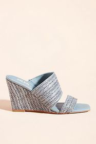 Anthropologie Silent D Kohen Wedge Heels
