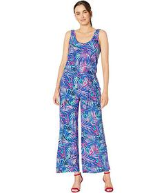 Pappagallo The Alex Jumpsuit - Dream Palms Printed