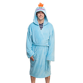 Rick and Morty Mr. Meeseeks Hooded Robe