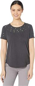 Lucky Brand Embroidered Cutout Top