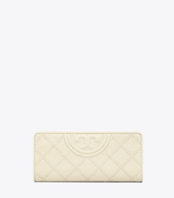 Tory Burch FLEMING LEATHER SLIM ENVELOPE WALLET