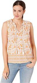 Lucky Brand Woodblock Printed Tank