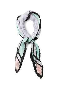 Forever21 Accordion-Pleated Geo Print Scarf