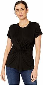 Kenneth Cole New York Knotted Front Top