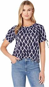 MICHAEL Michael Kors Ikat Off Shoulder Top