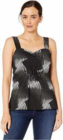 Kenneth Cole New York Gathered Bodice Top