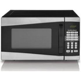 Hamilton Beach 0.9 Cu. Ft. 900W Stainless Steel Mi