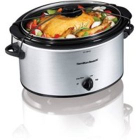 Hamilton Beach 5 Quart Portable Slow Cooker | Mode
