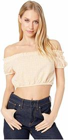 BCBGeneration Off Shoulder Puff Sleeve Top - TBB12