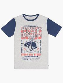 Lucky Brand Boys S-xl Rodeo Tee