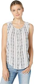 Lucky Brand Striped Sleeveless Shirt