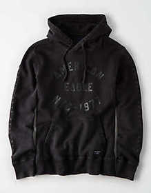 American Eagle AE Fleece Graphic Pullover Hoodie