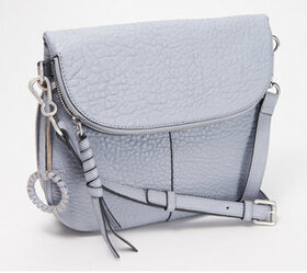 """As Is"" Vince Camuto Lamb Leather Crossbody Bag -"
