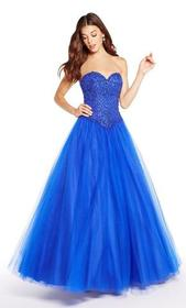 Alyce Paris - 60205 Strapless Sweetheart Tulle Bal