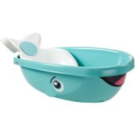 Fisher-Price Whale of a Tub with Removable Baby Se