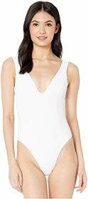L*Space Clear Water Texture Sunscape One-Piece