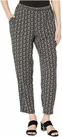 Vince Camuto Petite Paisley Imprint Pull-On Pants