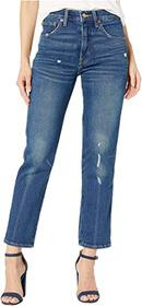 Lucky Brand Authentic Straight Crop Jeans in Broom
