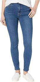 J Brand Leenah High-Rise Ankle Skinny in Cyber